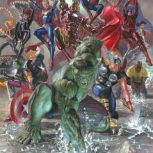 Marvel Legacy Signed Giclee on Canvas Print - ID: aprrossAR0084C Alex Ross