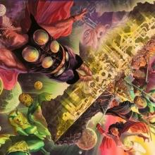 Asgard Universe Signed Giclee on Canvas Print - ID: aprrossAR0093C Alex Ross
