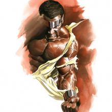 Luke Cage: Hero for Hire Signed Giclee on Paper Print - ID: aprrossAR0125P Alex Ross