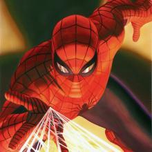 Visions: Spider-Man Lithograph Print - ID: aprrossAR0133ML Alex Ross