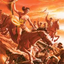 Wonder Woman Tribute Lithograph Print - ID: aprrossAR0198DL Alex Ross