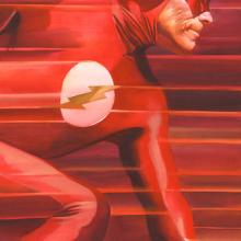 Shadows Flash Signed Giclee Canvas Print - ID: aprrossAR0221C Alex Ross