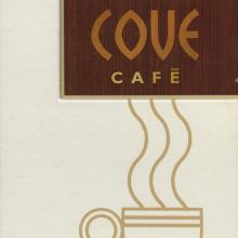 Cove Cafe Menu - ID: augdismenu20018 Disneyana