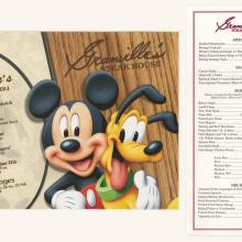Granville's Steakhouse Menu and Children's Menu - ID: augdismenu20040 Disneyana