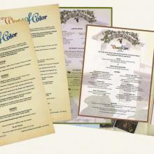 Wine Country Trattoria Menu - ID: augdismenu20048 Disneyana