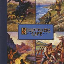 Storyteller Cafe Menu - ID: augdismenu20050 Disneyana
