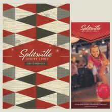 Splitsville Luxury Lanes Menu - ID: augdismenu20282 Disneyana