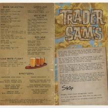 Trader Sam's Drink Menu - ID: augdismenu20321 Disneyana