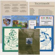 Collection of Yachtsman Steakhouse Menus - ID: augdismenu20324 Disneyana