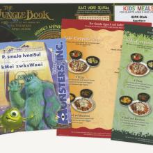 Collection of Disney Restaurant Kids Menus - ID: augdismenu20377 Disneyana
