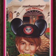 Casa Mexicana Recipe Brochure - ID: augdismenu20385 Disneyana