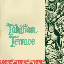 Tahitian Terrace Menu - ID: augdismenu20390 Disneyana