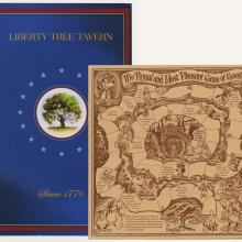 Liberty Tree Tavern Menu and Children's Menu - ID: augdismenu20393 Disneyana