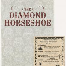 The Diamond Horseshoe Menu - ID: augdismenu20419 Disneyana