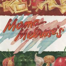 Mama Melorse's Lunch Menu - ID: augdismenu20421 Disneyana