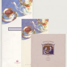 Collection of Disney's Grand Floridian Beach Resort Menus - ID: augdismenu20432 Disneyana