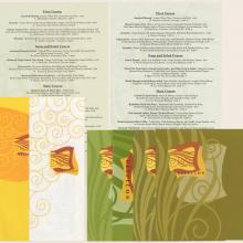 Collection of Citricos Menus - ID: augdismenu20433 Disneyana