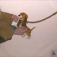 Fox and the Hound Production Cel - ID: augfoxhound20445 Walt Disney