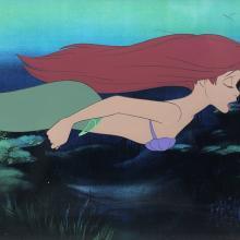 The Little Mermaid Production Cel - ID: augmermaid19274 Walt Disney