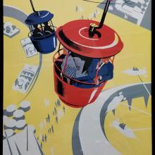 Disney Gallery Skyway Attraction Poster - ID: augposter20017 Disneyana