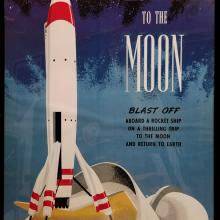Disney Gallery Rocket to the Moon Attraction Poster - ID: augposter20018 Disneyana