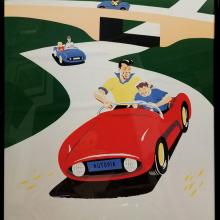 Disney Gallery Autopia Attraction Poster - ID: augposter20019 Disneyana