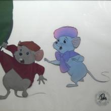 The Rescuer's Production Cel - ID: augrescuers20446 Walt Disney