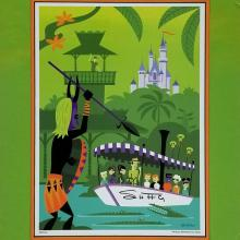 SHAG Jungle Cruise Print - ID: augshag20500 Disneyana