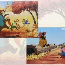 Pair of Song of the South Limited Edition Hand-Painted Cel - ID: augsouth20455 Walt Disney