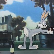 Ballot Box Bunny Production Cel - ID: augwarner20757 Warner Bros.