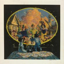 The New Fantasyland Charles Boyer Signed Limited Print - ID: janboyer19332 Disneyana