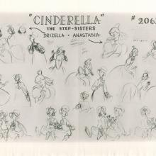 Cinderella Photostat Model Sheet - ID: janmodel20156 Walt Disney