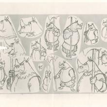 Robin Hood Photostat Model Sheet - ID: janmodel20310 Walt Disney