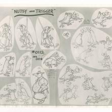Robin Hood Photostat Model Sheet - ID: janmodel20312 Walt Disney