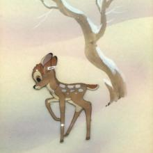 Bambi Production Cel - ID: julybambi20324 Walt Disney