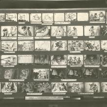 The Great Mouse Detective Photostat Storyboard Sheet - ID: julydetective20112 Walt Disney