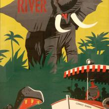 Disney Gallery Jungle Cruise Attraction Poster - ID: julydisneyana20331 Disneyana