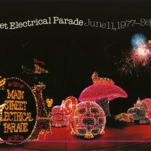 Main Street Electrical Parade Farewell Poster - ID: julydisneyana20368 Disneyana
