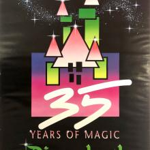 35 Years of Magic Disneyland Poster - ID: julydisneyana20382 Disneyana