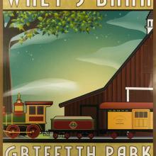 Walt's Barn Poster - ID: julydisneyana20383 Disneyana