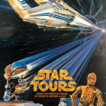 Star Tours Poster - ID: julydisneyana20385 Disneyana