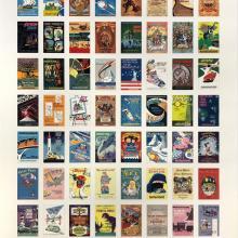 Disney Gallery Attraction Posters 15th Anniversary Print - ID: julydisneyana20388 Disneyana