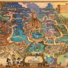 Tokyo DisneySea Map - ID: julydisneyland20317 Disneyana