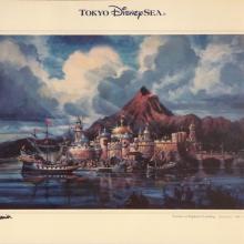 Tokyo DisneySea Fortress Explorations Print - ID: julydisneyland20318 Disneyana