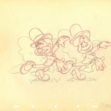 Nifty Nineties Production Drawing - ID: julynifty20136 Walt Disney