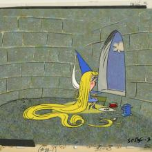 Unknown Rapunzel Production Cel & Background - ID: julyrapunzel20147 Unknown