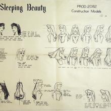 Sleeping Beauty Photostat Model Sheet - ID: julysleeping20304 Walt Disney