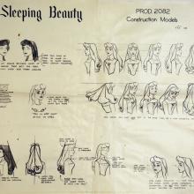 Sleeping Beauty Photostat Model Sheet - ID: julysleeping20307 Walt Disney