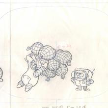 Spongebob Squarepants Layout Drawing - ID: julyspongebob20116 Nickelodeon