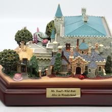 Mr. Toad's Wild Ride & Alice in Wonderland Olszewski Sculpture - ID: jundisneyana20141 Disneyana